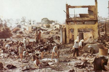 Cholon after tet offensive operations 1968