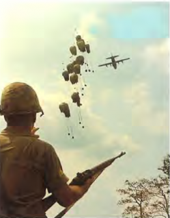 Junction city ac 130 airdrops supplies to 196th