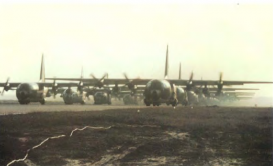 Junction city c 130 for 173rd paratroopers