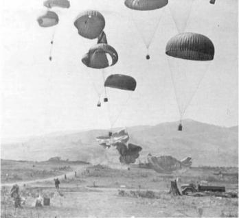 Khe sanh paradrop supplies
