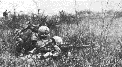 Prairie 1st 9th marine in operation prairie ii