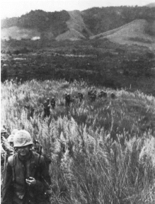 Prairie 1st 9th marine in operation prairie iii