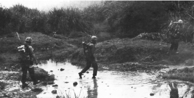 Prairie 3rd 3rd marine west of cam lo in operation prairie iii