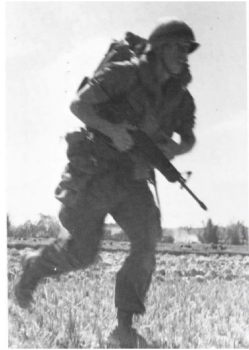 Union ii rifle man from 3rd 5th attacking nva position